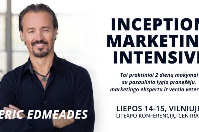 [LiMA rekomenduoja] Inception Marketing Intensive