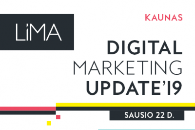 Digital Marketing Update'19. Kaunas