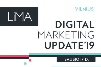 Digital Marketing Update'19. Vilnius