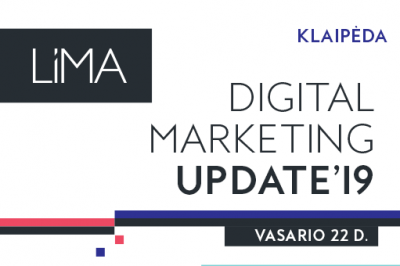 Digital Marketing Update'19. Klaipėda
