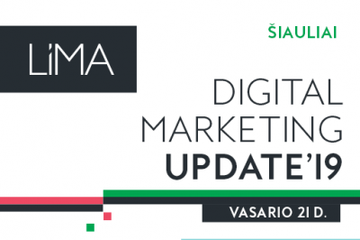 Digital Marketing Update'19. Šiauliai