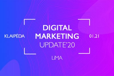 [trend] Digital Marketing Update'20. Klaipėda