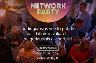 [LiMA rekomenduoja] NETWORK PARTY