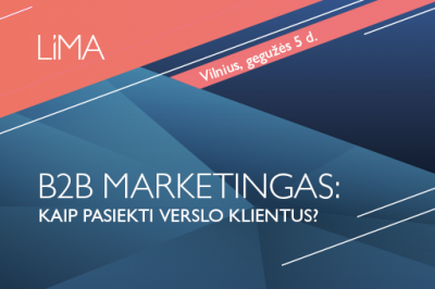 LiMA ONLINE: B2B marketingas