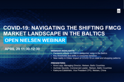 [LiMA rekomenduoja] Webinar: Covid-19: Navigating the shifting FMCG market landscape in the Baltics